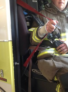 Donning Your SCBA with Seatbelt