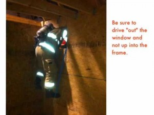 Explanation of Webbing Removal for Basements Escapes
